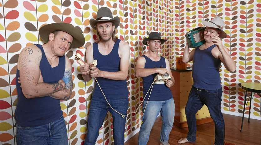 HOT TROTTERS: Hillbilly pop stars The Pigs will headline the Wine and Swine cocktail party at the 2019 BaconFest on August 23.
