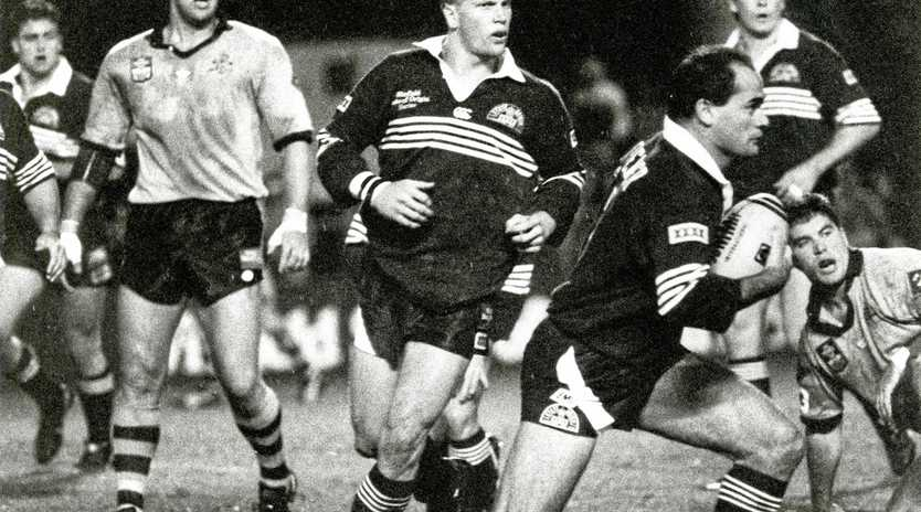 QUEENSLAND GREAT: Dale Shearer will share what it was like to pull on maroon for Queensland.