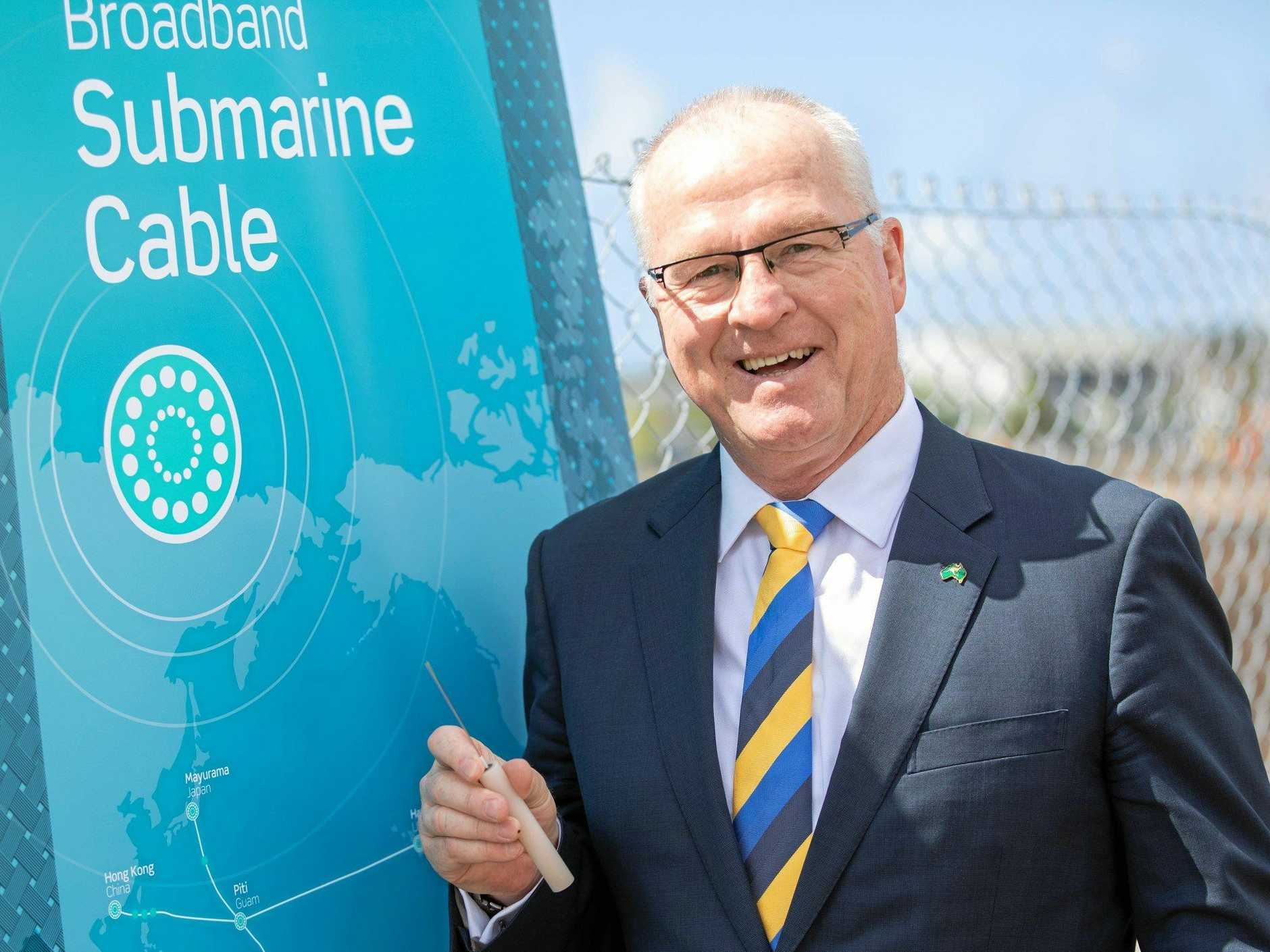 COST TO PAY: A new financial report has found the Sunshine Coast Council's ability to maintain a 'Strong' credit rating was due to on-going growth and a willingness to implement rate rises. Mayor Mark Jamieson sells the latest game-changer project.