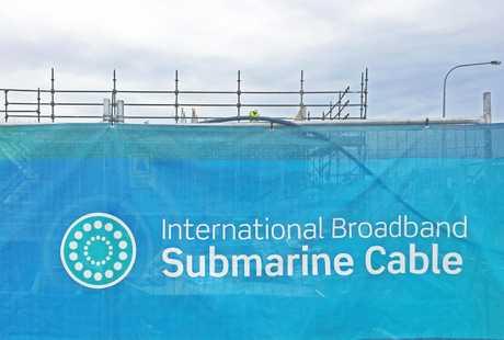 The Sunshine Coast international broadband submarine cable landing site at Maroochydore.