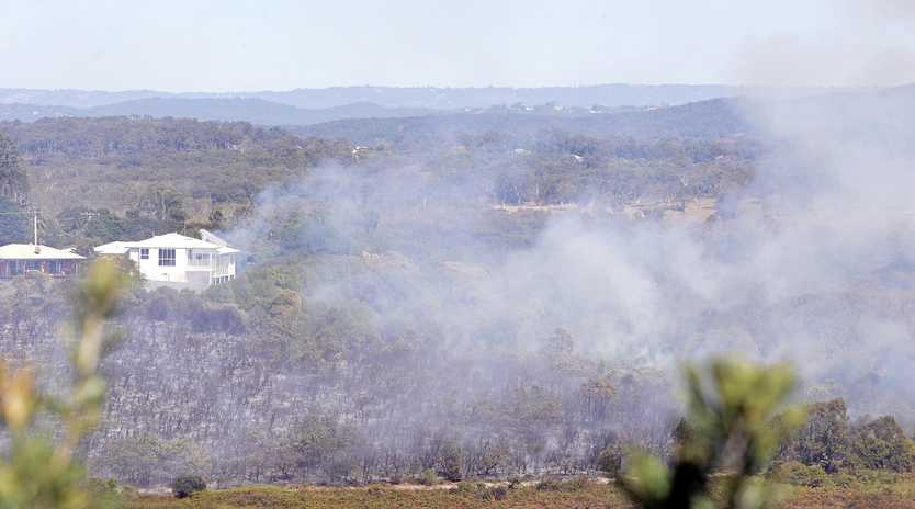 Controlled burn-offs are taking place at Noosa and Tewantin National Parks