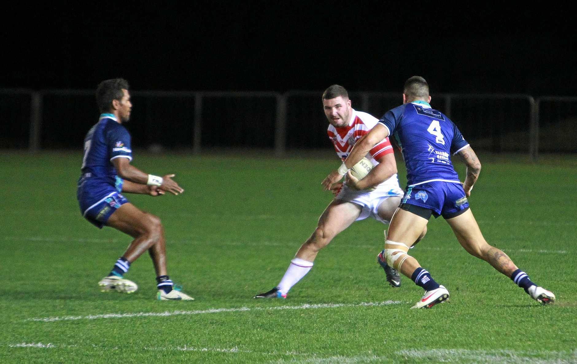 Caloundra RSL Cup A Grade Rugby League Grand Final at Stockland Stadium, Kawana: Samuel Hambly. Photo: Brett Wortman / Sunshine Coast Daily