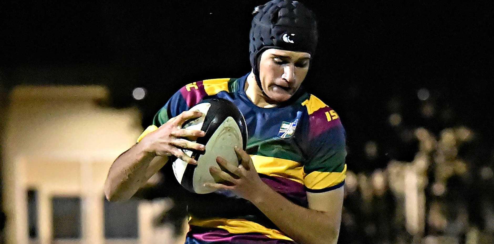 READY: Sunshine Coast Grammar take on Matthew Flinders in the semi final of the Sunshine Coast Secondary Schools competition tonight. Pictured is Grammar's Joe Makin..