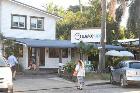 Wake Up! backpackers establishment in Byron Bay.