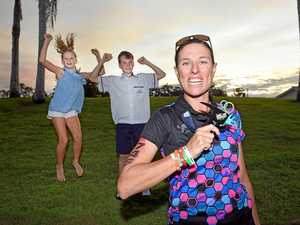 SUPER MUM: Bay woman completes her first 12-hour Ironman