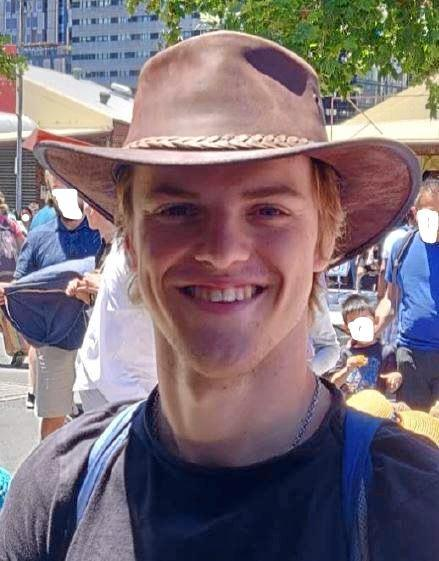 Missing Belgian backpacker Theo Hayez was last seen leaving Cheeky Monkeys Bar on May 31.