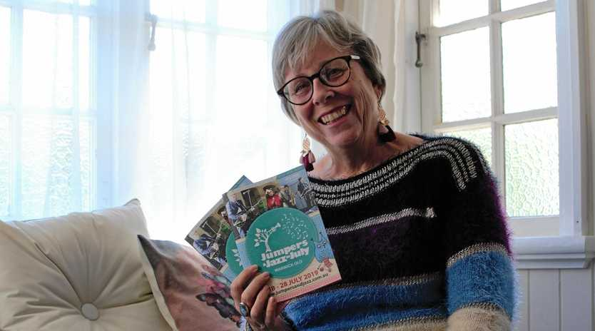 A 'WOOLLY' GOOD TIME: Sally Edwards is excited to present the Jumpers and Jazz in July program.