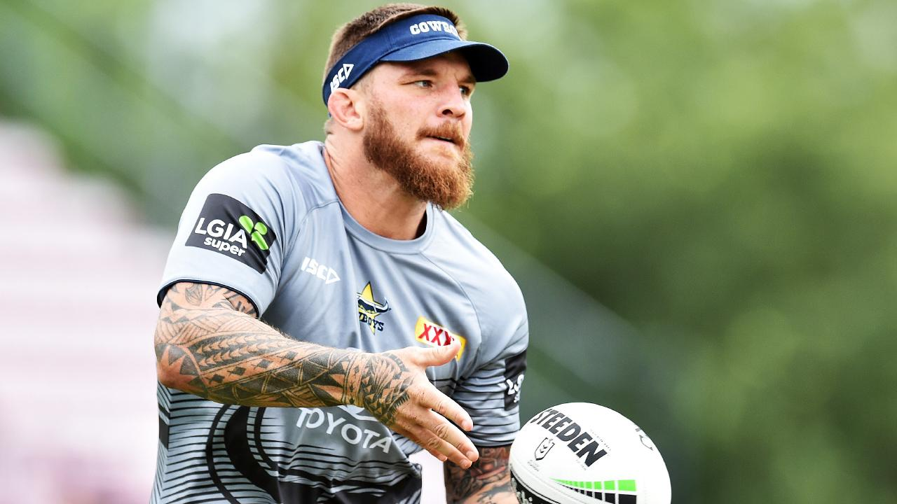 Josh McGuire was one of the Cowboys' best against Manly. Picture: Zak Simmonds