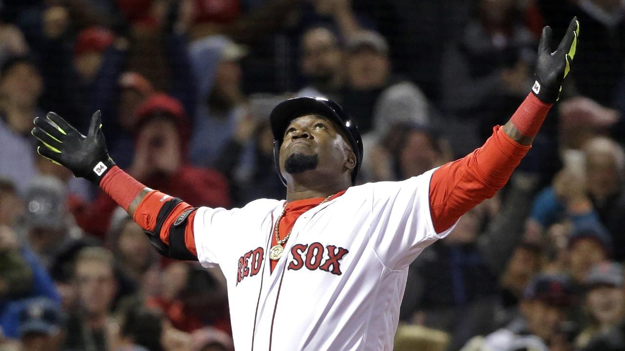 Former Boston Red Sox star David Ortiz has been shot. (AP Photo/Elise Amendola, File)