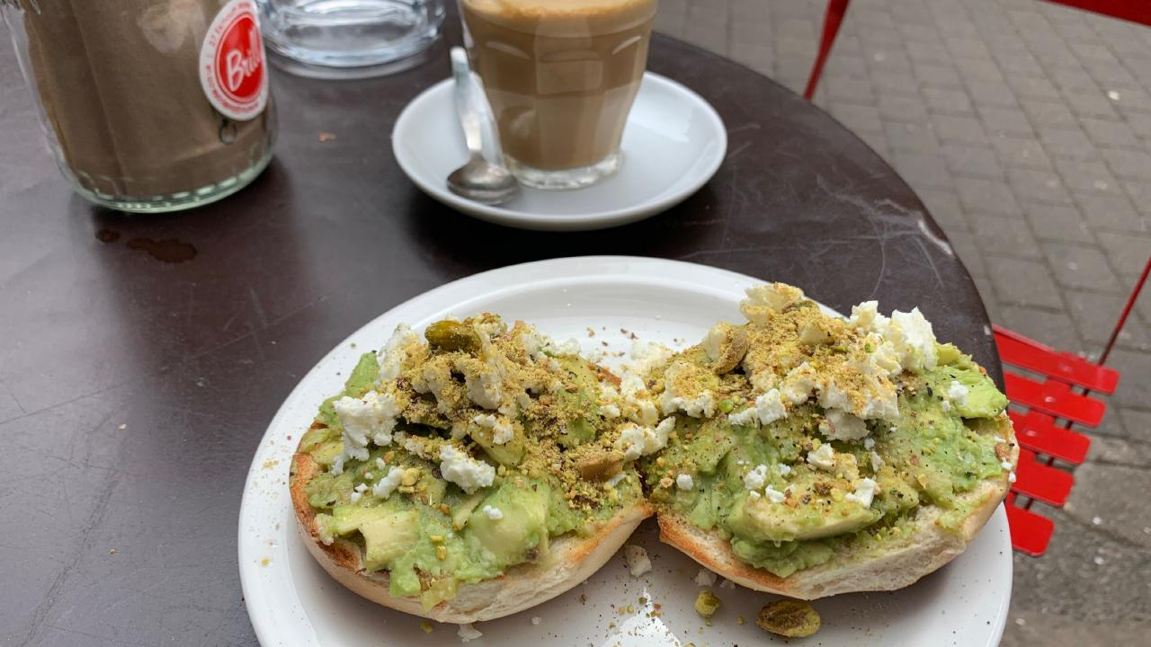 Brill cafe in Clerkenwell had the best version of avocado smash.