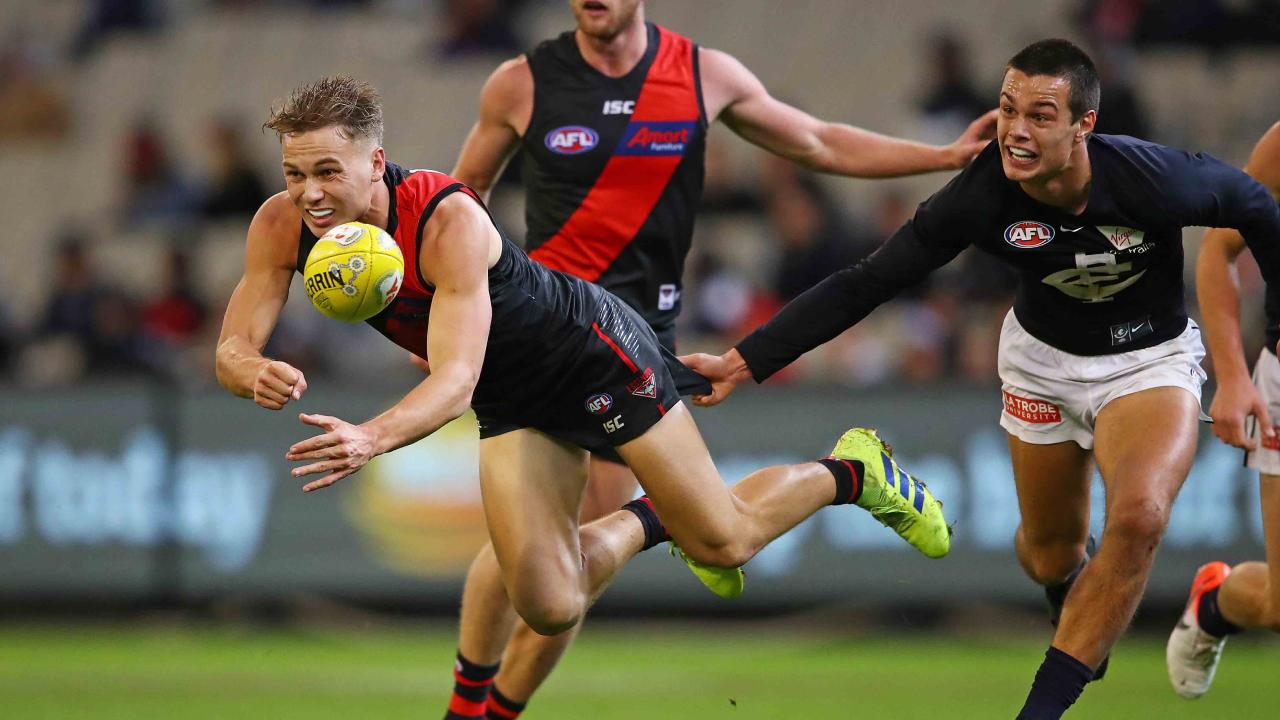Essendon's Dylan Clarke earned a Rising Star nomination.