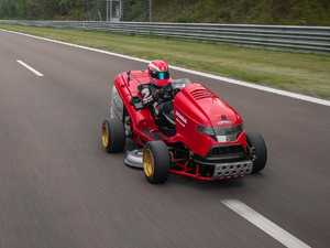 Lawnmower that trumps $3.9m supercar