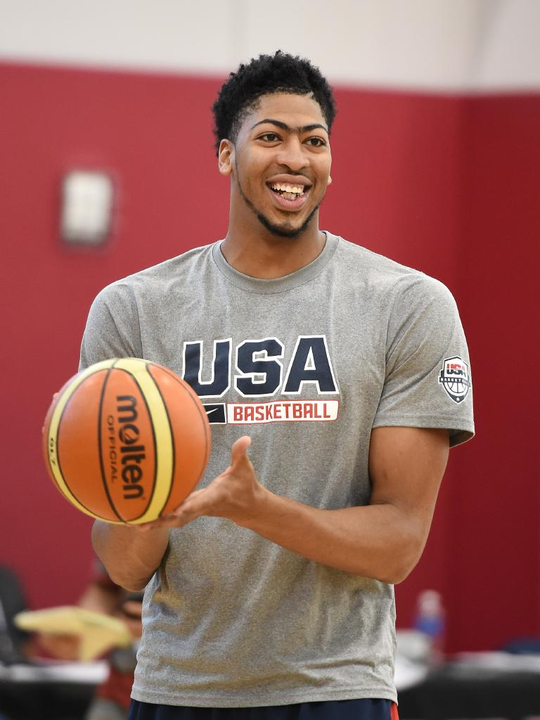 Anthony Davis has won multiple medals with Team USA. Picture: Getty