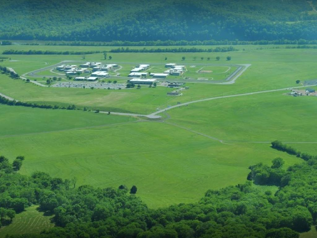 Tennessee has 60 inmates on death row at its high risk prison facility Riverbend (above) which lies in a loop of the Cumberland River just outside Nashville.