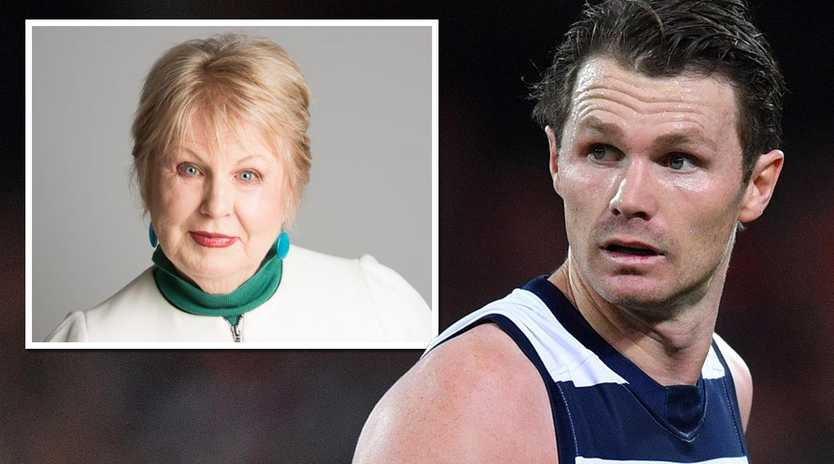 AFLPA president Patrick Dangerfield's comments have irked Jan Beames.