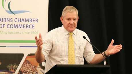 Queensland Resources Council chief executive Ian Macfarlane