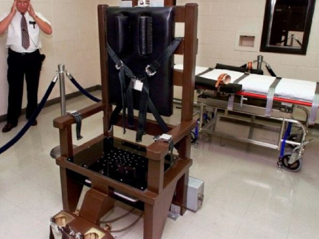 Tennessee's electric chair at Riverbend maximum security prison has been dusted off for executions. Picture: AP Photo/Mark Humphrey.