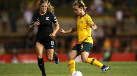 Midfielder Elise Kellond-Knight is confident the Matildas can hit back against Brazil at the Women's World Cup. Picture: Getty Images