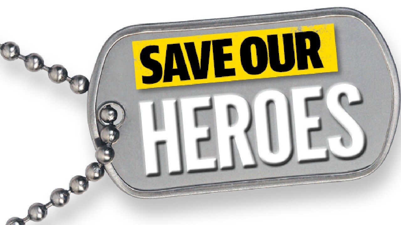 The Daily Telegraph's Save our Heroes campaign.