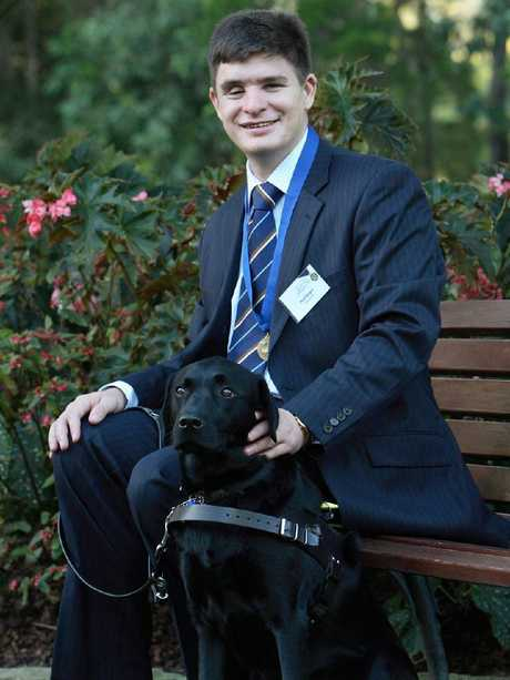 Dr Paul Harper with his dog Chester. Picture: supplied