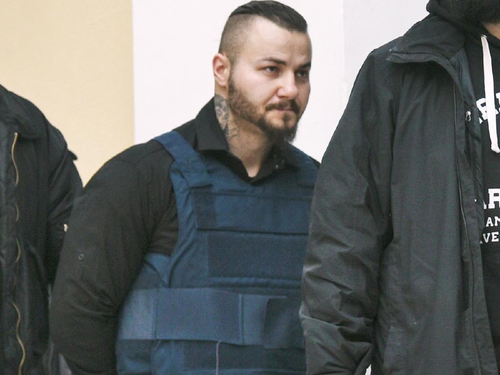 Professional Bulgarian hitman, Yuliyanov J. Raychev Serafim. Picture: Nikos Christofakis for News Corp Australia