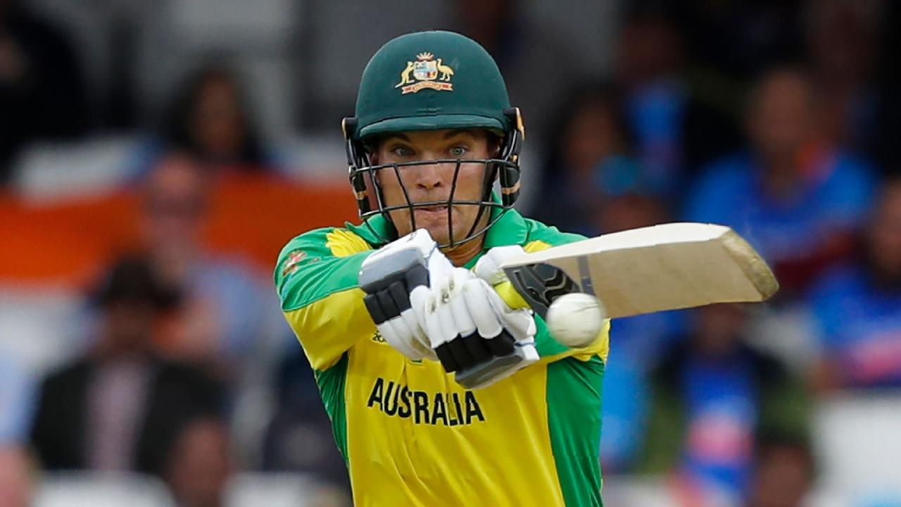 Alex Carey has impressed in Australia's opening two games. (Photo by Adrian DENNIS / AFP)