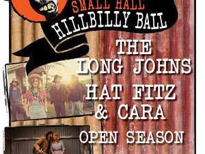 SMALL HALL HILLBILLY BALL