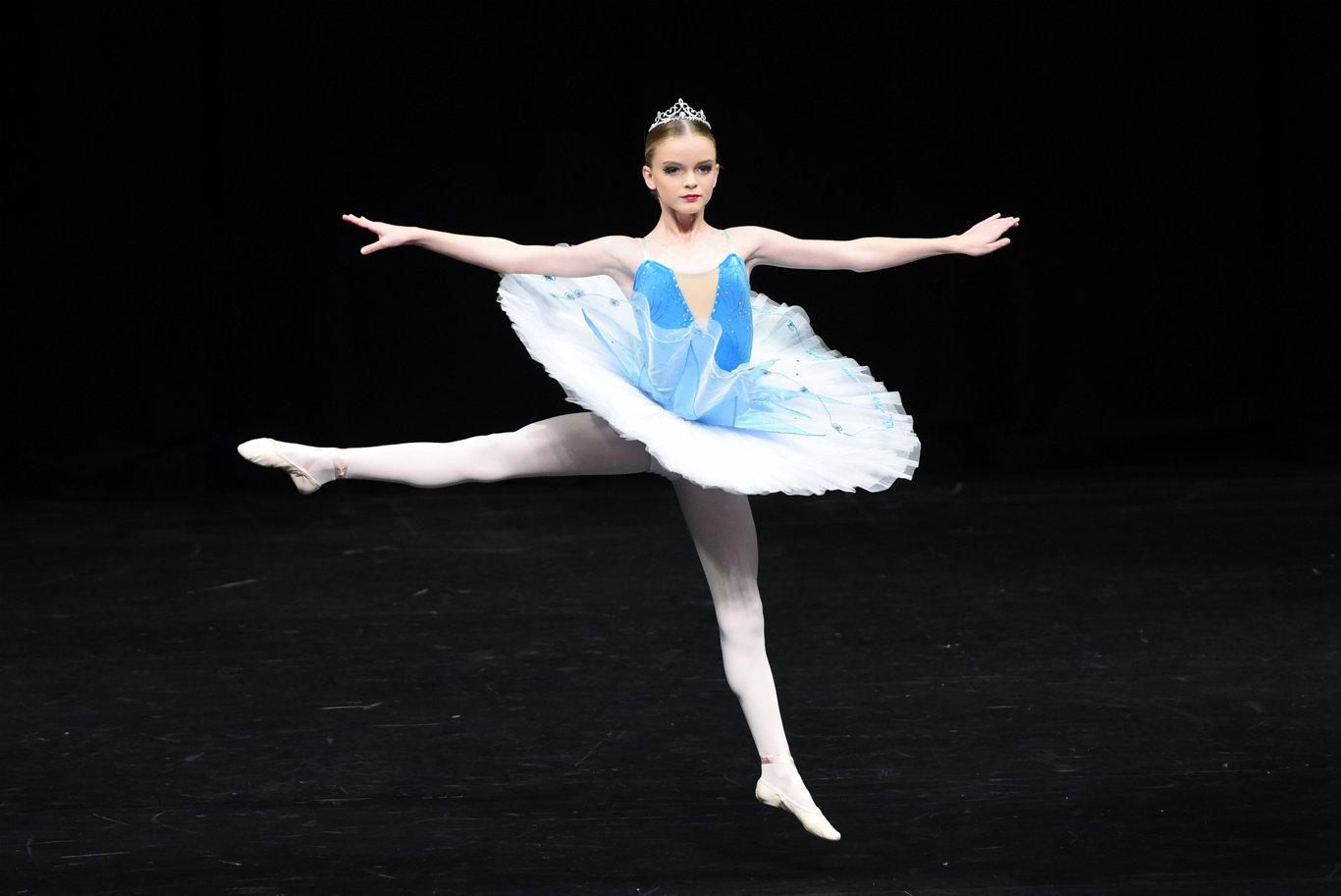 Maryborough Dance Eisteddfod - 14 years & under Classical Ballet Solo - Maya McPhee.