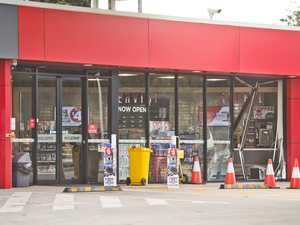 Possible links in service station ram-raid, chemist robbery