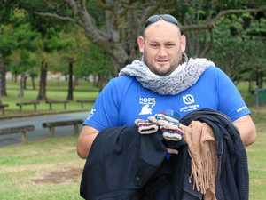 'I didn't lose hope': Former homeless man gives back