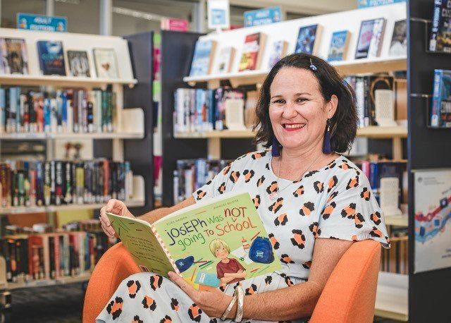DREAM COME TRUE: Ellen Madden recently published her first children's book, Joseph was not Going to School.