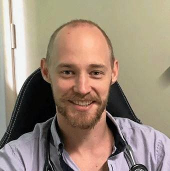 Dr Matt Franke is urging people to be vigilant with flu protection at this year's show.