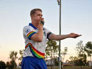 Ref faces scorching hot competition at Touch Footy World Cup