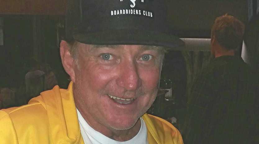 LIFER: Mark Mono Stewart with his Byron Bay Boardriders Lifetime membership.