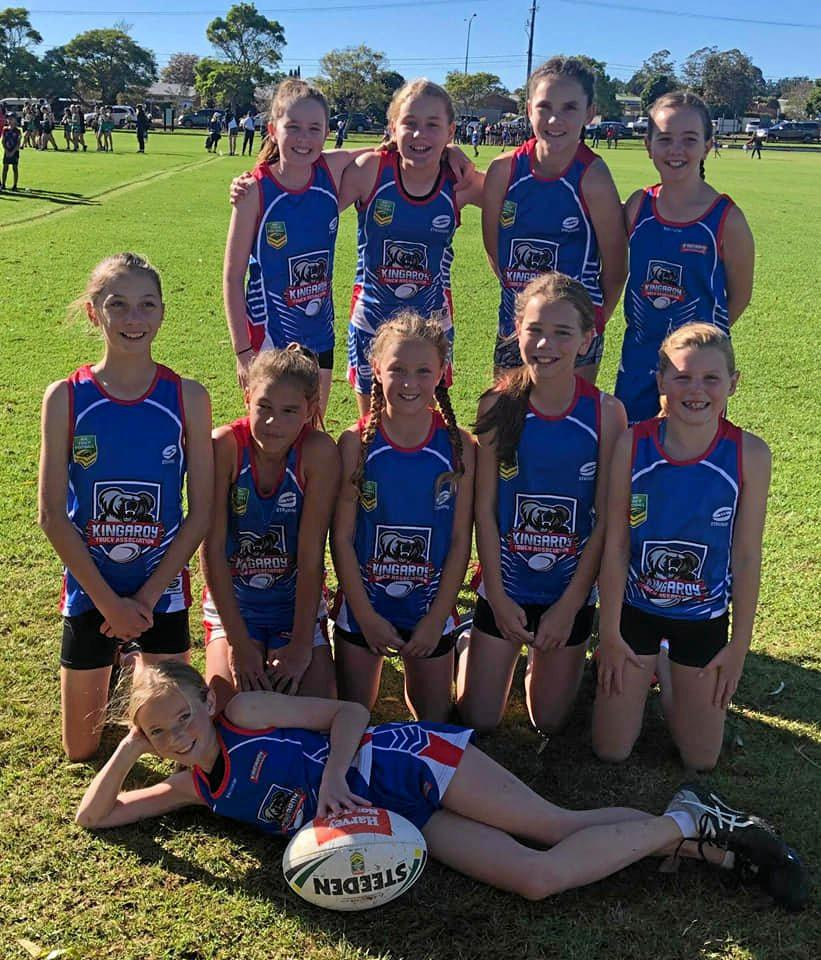 READY TO PLAY: The Kingaroy U12 girls team will play with pride at the Wide Bay carnival on their home ground.