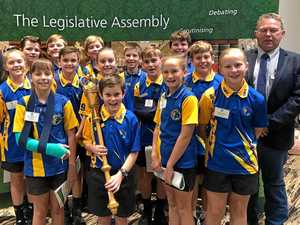 Democracy in action for Calliope school students