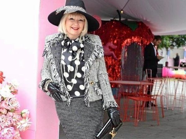 STYLISH LADY: Dale Olsson will be judging the Fashions on the Field at the Girls Grammar races on Saturday.