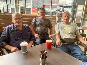 'This is our office': Why Mackay men love this cafe