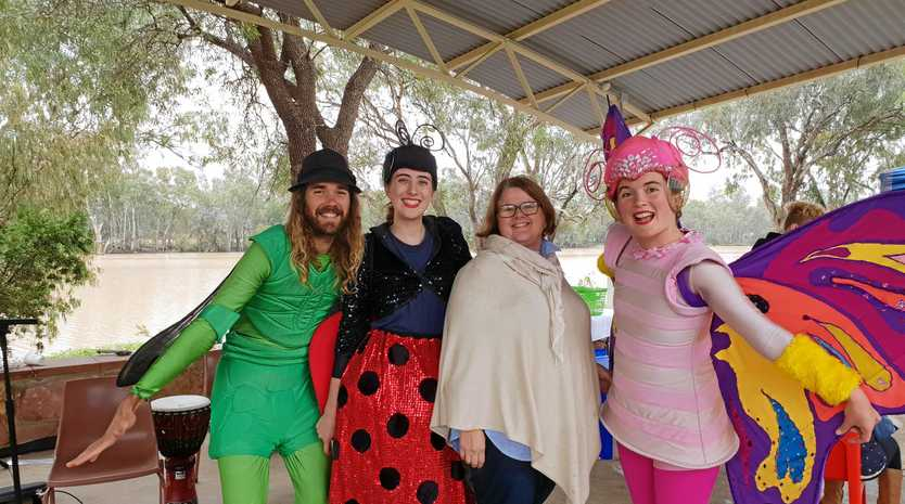 COMMUNITY EVENT: The Jitterbugs with Care Balonne Family Fun Day organiser Kathy Claxton.