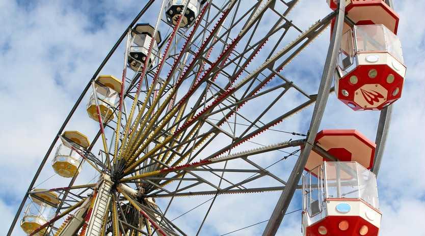 File photo of a Ferris wheel.