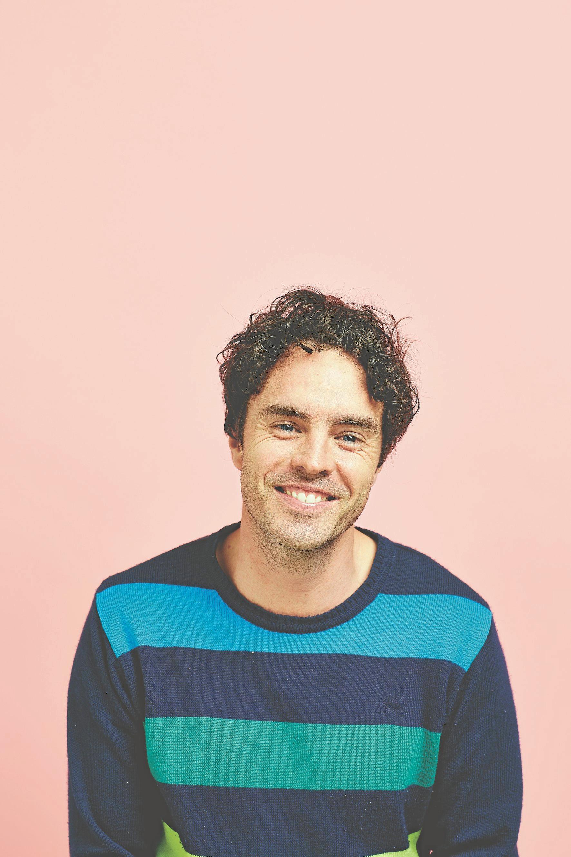 Bangalow film maker and writer Damon Gameau.