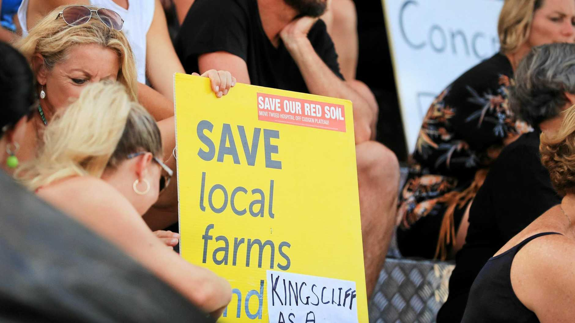 HOSPITAL KERFUFFLE: There was a strong opposition to the new Tweed Valley Hospital being built on agricultural land.