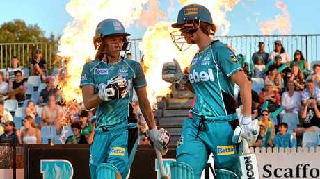 The Brisbane Heat will open their WBBL campaign against the Sydney Sixers.