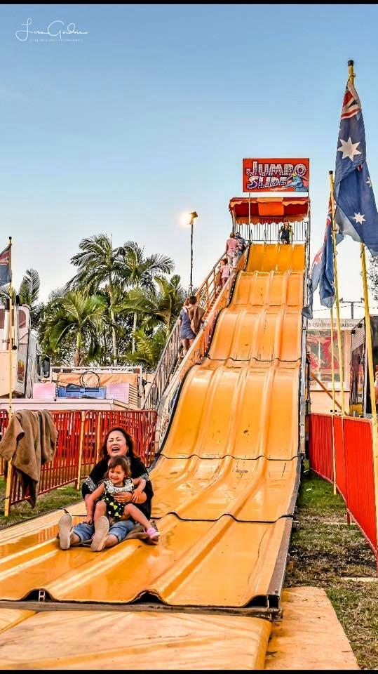 Slide down the Jumbo Slide at the Pioneer Valley Show this year.