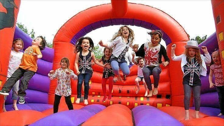 The jumping castle at the Pioneer Valley Show will have visitors bouncing for joy.