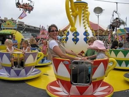 A classic show favourite, the teacups will be spinning around the Pioneer Valley Show this year.