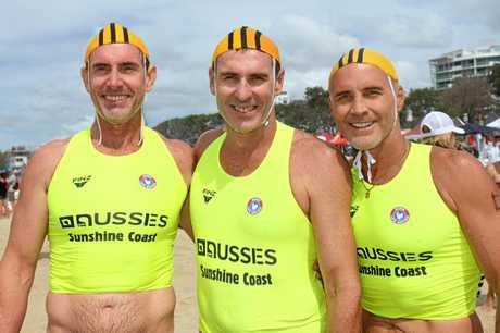 DREAM TEAM: Alex Surf Team Rick Pallister (L), Russell Cooper, Grant Kenny (R)