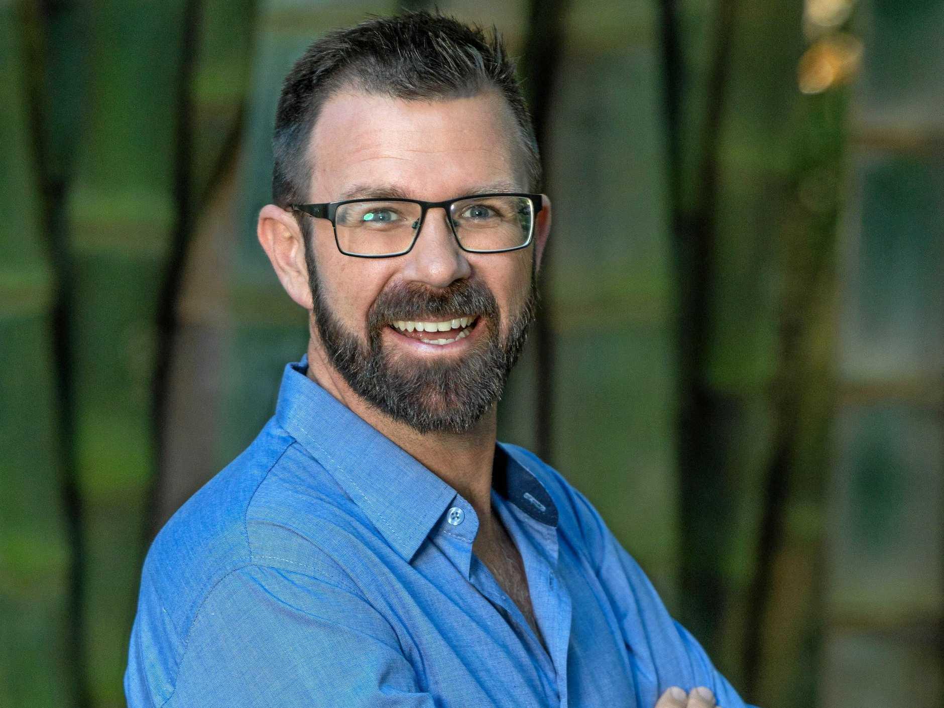 Channel 7 presenter Kip Wightman