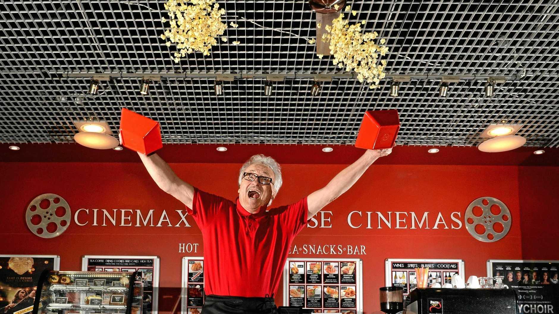 Kingscliff Cinema owner Stephen Buge.