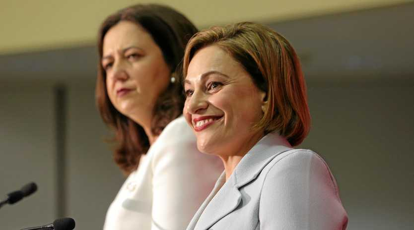 WHAT'S OUR SHARE: Treasurer Jackie Trad's fifth budget has splashed big dollars into hospitals and schools, but business leaders have lamented the attention to infrastructure projects on the Fraser Coast.